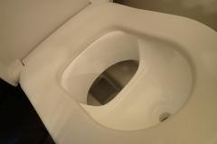 Anprobe in unserem Gäste-WC