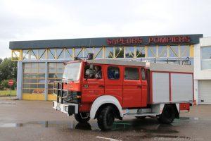 Allmo bei den Sapeurs Pompiers in Le Treport