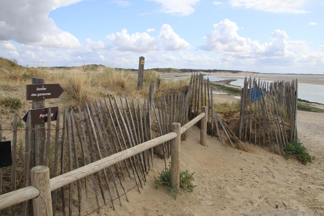 am Strand von Berck sur Mer