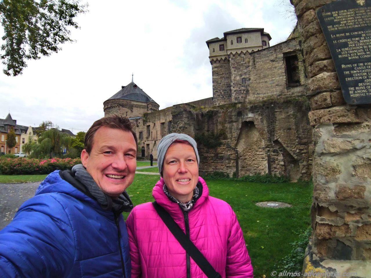 altes Gemäuer in Andernach