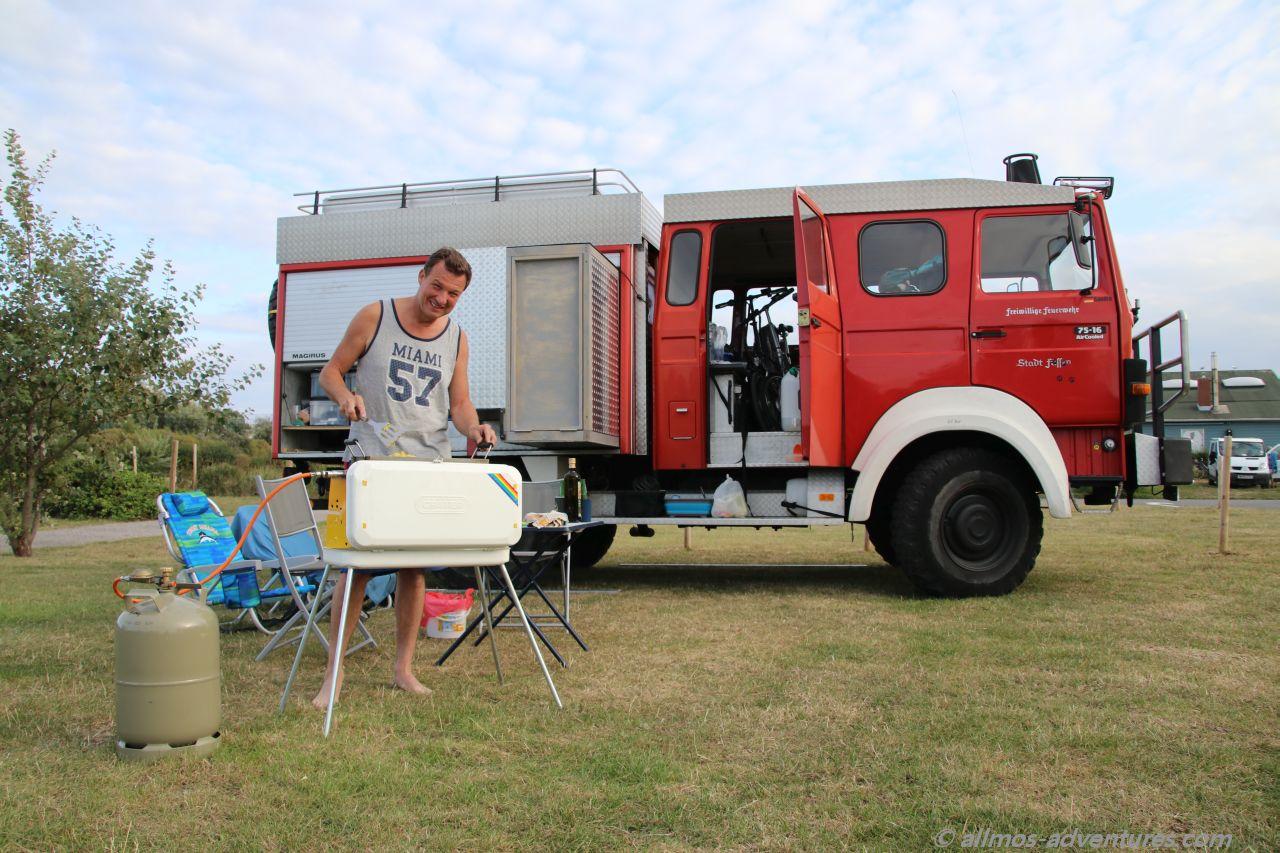 Allmo auf dem Campingplatz La Licorne