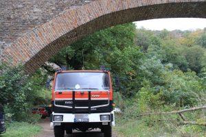 Allmo unter der Brücke