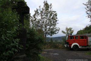 Allmo und das Erntekreuz am Laacher See