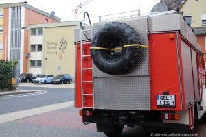 Feuerwehr in Andernach